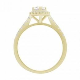 Maura engagement ring yellow