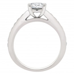 Melanie 2(White) engagement ring