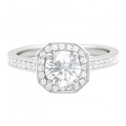 Mille 1 engagement ring