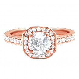 Mille 1(Rose) engagement ring