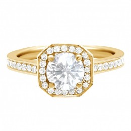Mille 1(Yellow)engagement ring