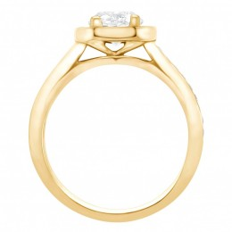 Mille 2(Yellow)engagement ring