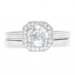 Mille 4 engagement ring