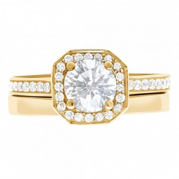 Mille 4(Yellow)engagement ring