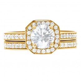 Mille 5(Yellow)engagement ring