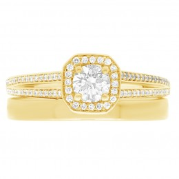 Millie (split)4(yellow) engagement ring