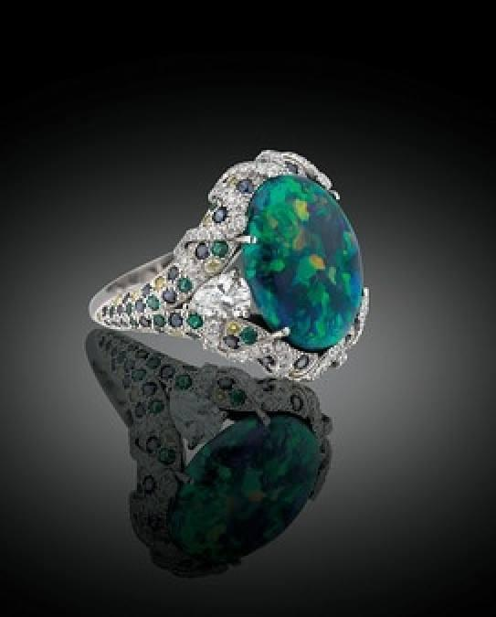 The Birthstone For October Is Opal.