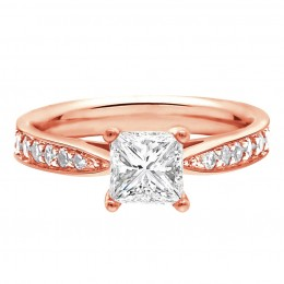 Polly 1(White) engagement ring