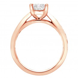 Polly 2(rose) engagement ring