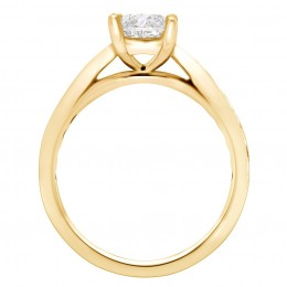 Polly 2(White) engagement ring