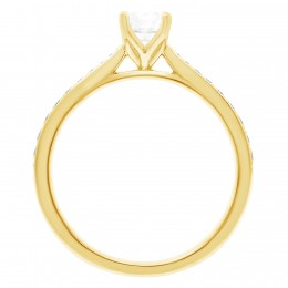 Polly 2(yellow) engagement ring