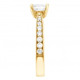 Polly 3(White) engagement ring