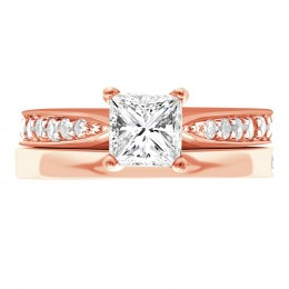 Polly 4(rose) engagement ring