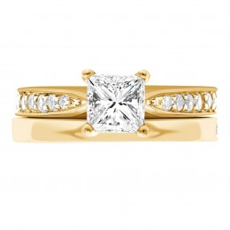 Polly 4(White) engagement ring