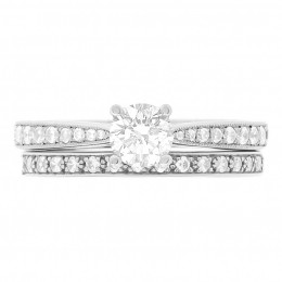 Polly 5 diamond engagement ring