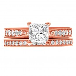 Polly 5(rose) engagement ring