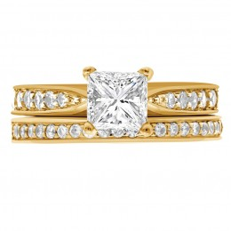 Polly 5(White) engagement ring