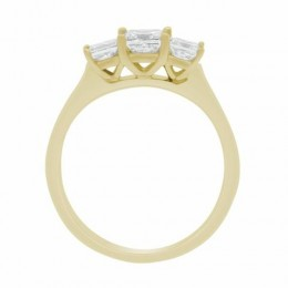 Poppy engagement ring yellow