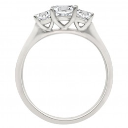 Poppy (pave)2 engagement ring