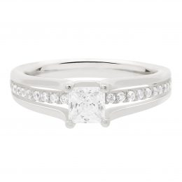 Princess Cut Diamond Engagement Ring (mandy)