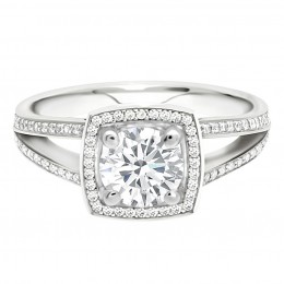 Scarlett 1(White) engagement ring