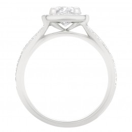 Scarlett 2(White) engagement ring