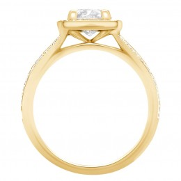 Scarlett 2(yellow) engagement ring