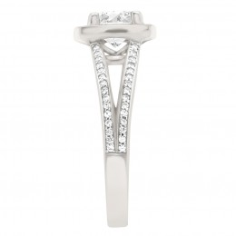 Scarlett 3(White) engagement ring