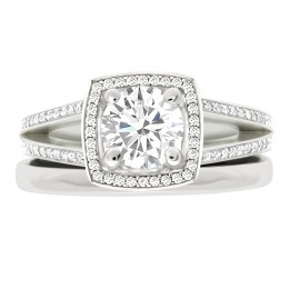 Scarlett 4(White) engagement ring