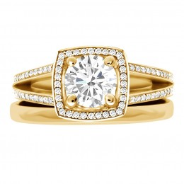 Scarlett 4(yellow) engagement ring