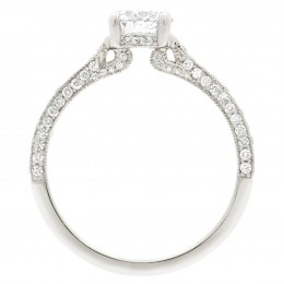 Sydney 2 engagement ring white gold