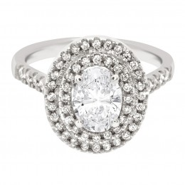 Solase Oval 1 engagement ring