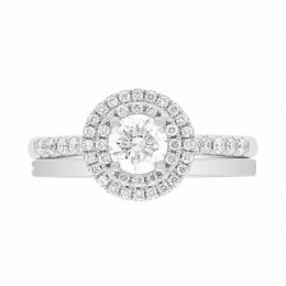Solase engagement ring round