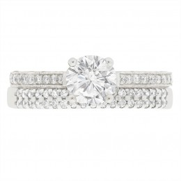 Sydney 5 engagement ring white gold