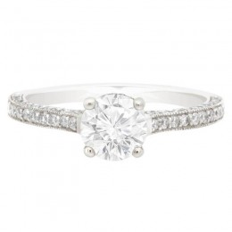 Sydney 1 engagement ring white gold