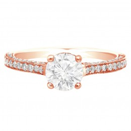Sydney 1 rose gold engagement ring