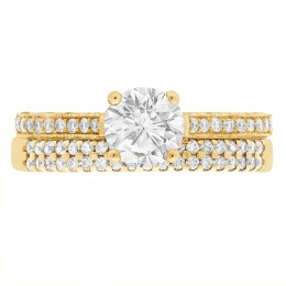 Sydney 5(Yellow gold)engagement ring