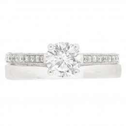 Sydney 4 engagement ring white gold