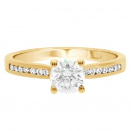 Tanya 1(Yellow)engagement ring