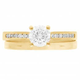 Tanya 4(Yellow)engagement ring