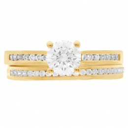 Tanya 5 (Yellow)engagement ring