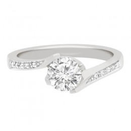 Tess (pave)1 engagement ring