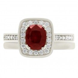 Vivian (ruby)4 engagement ring