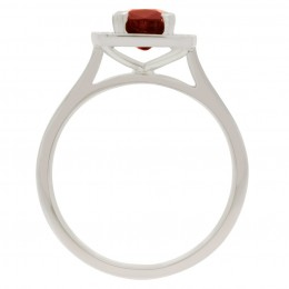 Ruby Diamond Ring - vivian 2
