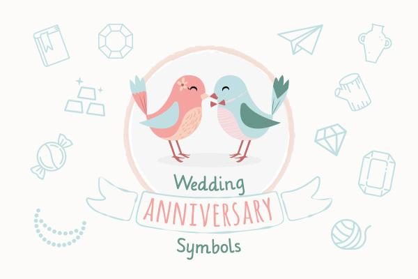 Wedding Anniversary Symbols