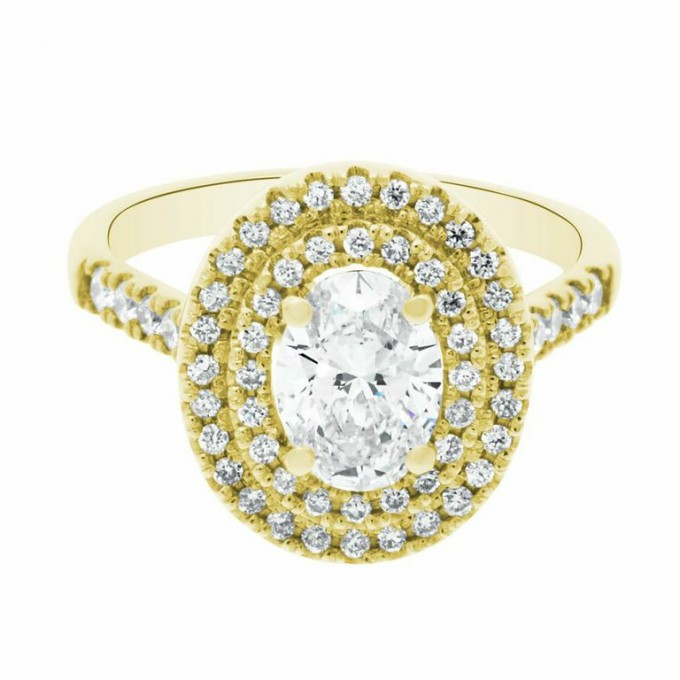 Yellow Gold Engagement Rings – The resurgence of a classic.