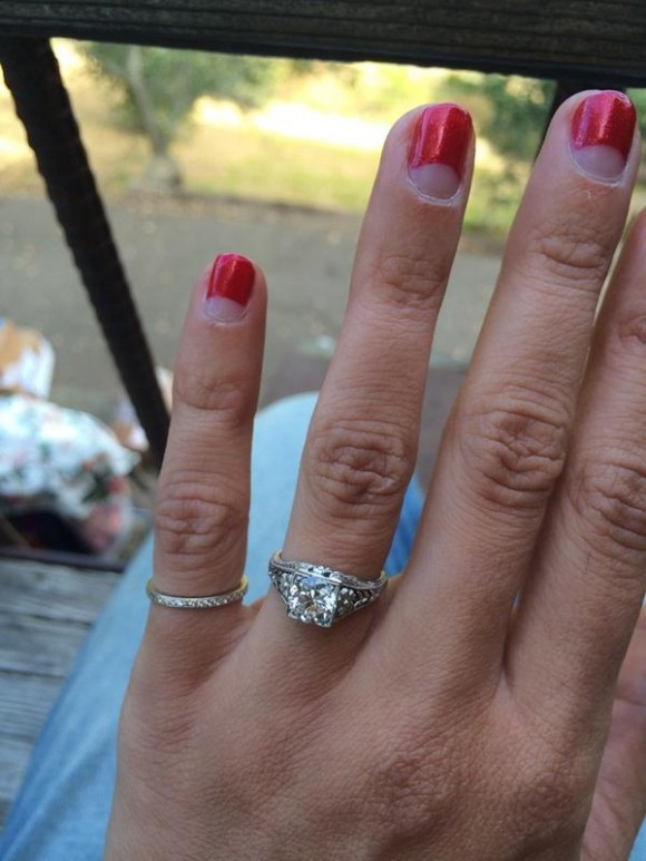 Aly Michalka engagement news.