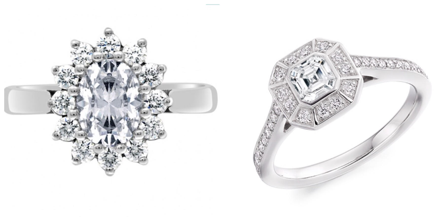 Art Deco Engagement Rings and Vintage/Antique Engagement rings