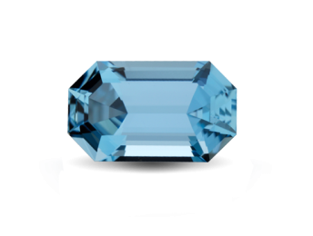 polished aquamarine