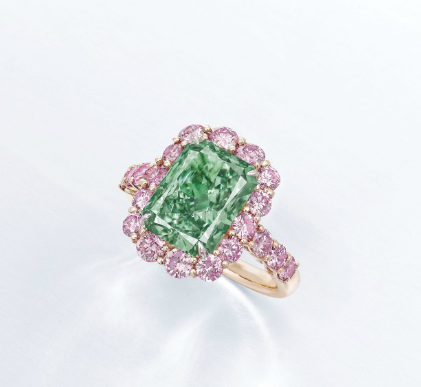 Green Diamond Love